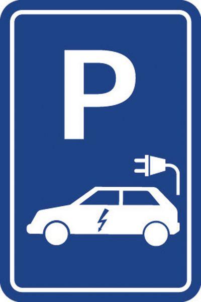 """Panneau Parking """"Voiture électrique"""""""