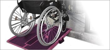 Accessibilité : Faciliter la circulation des handicapés & PMR