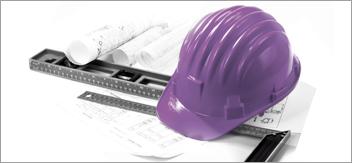 Casques de chantier (EPI)