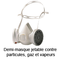Demi-masque respiratoire