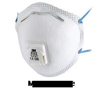 Masque de respiration avec coque