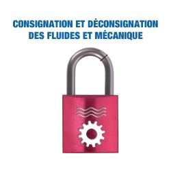 Consignation Déconsignation des fluides et Mécanique