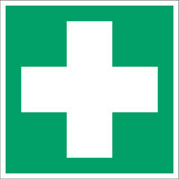 pictogramme indiquant le matériel de premiers secours