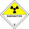 Plaque de transport ADR matières radioactives n°7-D