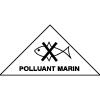 Symbole de transport de produits dangereux ADR polluant marin M23