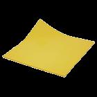 Plaques d'obturation souples et réutilisables jaunes