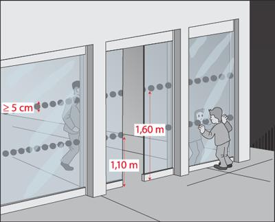 Faciliter l 39 acc s aux portes et sas aux personnes for Norme porte interieur