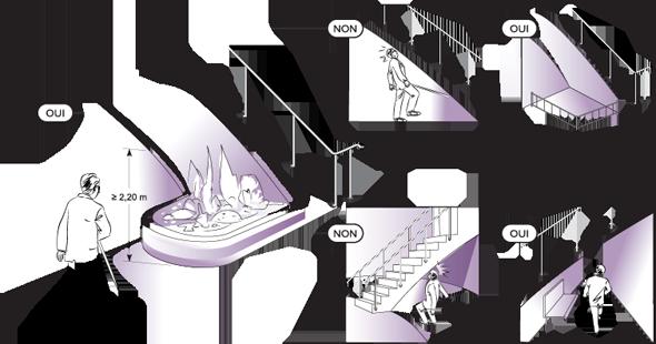 Banc escalier