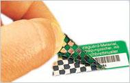 Etiquettes anti-fraude