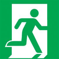 pictogramme d'évacuation ISO 7010