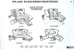 plan pompiers