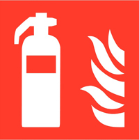 pictogramme iso 7010 incendie