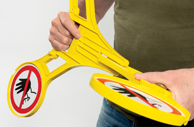 Etape 2 - Installation du chevalet de signalisation