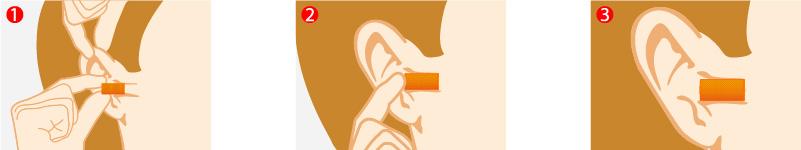 Bouchons d'oreilles à usage unique