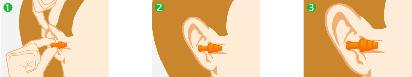 Comment mettre correctement des bouchons d 39 oreilles for Bouchon oreille piscine