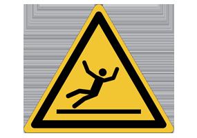 Panneaux et pictogrammes Prévention des chutes