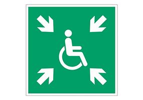 Evacuation pour Handicapés