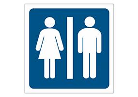 Panneaux et pictogrammes  Toilettes & WC