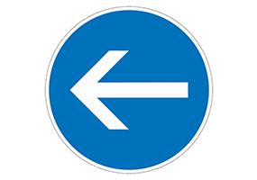 Panneaux et pictogrammes d'obligation
