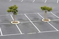 Emplacements de places de stationnement - © Aaron Kohr - Fotolia.com