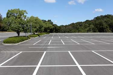 les places de stationnement