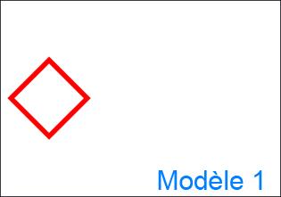 Etiquette GHS personnalisée - design 1