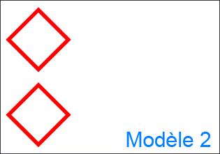 Etiquette GHS personnalisée - design 2
