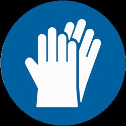 Gants de protection pour produits chimiques