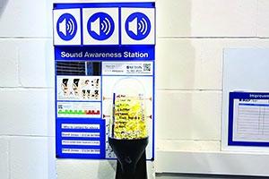 Stations de sécurité