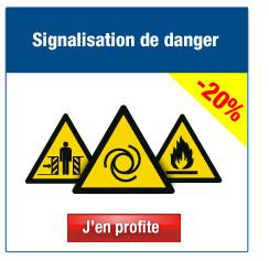 Autres panneaux et pictogrammes de signalisation de Danger