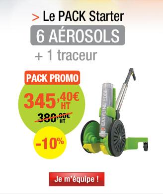 Kit de démarrage 6 aérosols de peinture Epoxy + 1 traceur Easyline®