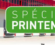Produits parking - Spécial printemps