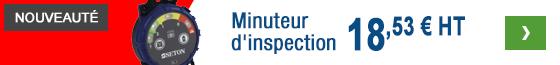 Vérifiez l'échéance d'une inspection en un coup d'oeil !