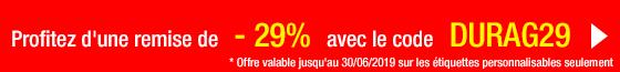 Promo étiquettes Durag29