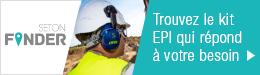 Trouvez en quelques clics le kit EPI qui répond à votre besoin