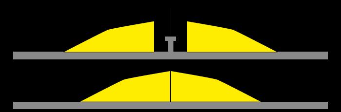 Schéma du ralentisseur franchisseur pour portail