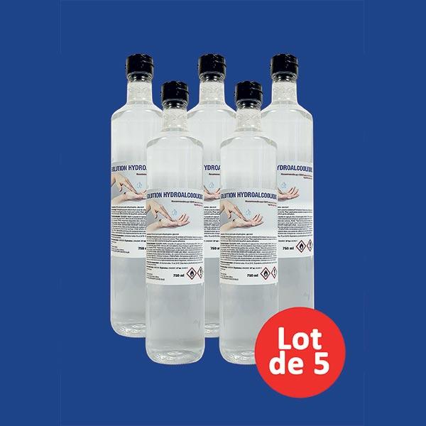 5 gels 750 ml
