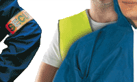 Abbigliamento antinfortunistica e bracciali