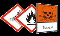 Etichette per l'identificazione dei prodotti pericolosi