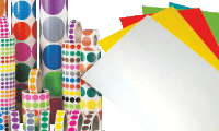 Etichette vergini per stampanti