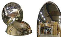 Specchi di sicurezza e circolazione per magazzini e aree di stoccaggio