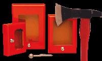 Cassette per chiavi di emergenza e protezione di valvole e accessori
