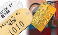Targhette di identificazione per aziende