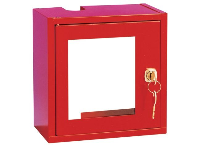 Cassetta di sicurezza per valvole di chiusura gas