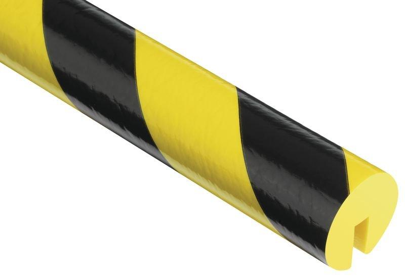 Profilo in schiuma a U Optichoc arrotondato - per bordi da 8 mm