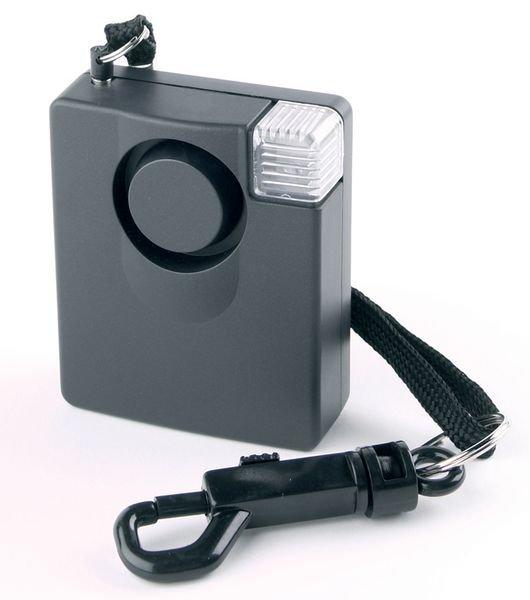 Allarme personale portatile con torcia