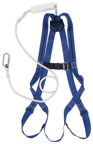 Kit anticaduta standard Miller® Titan™ con imbracatura, cordino e moschettone