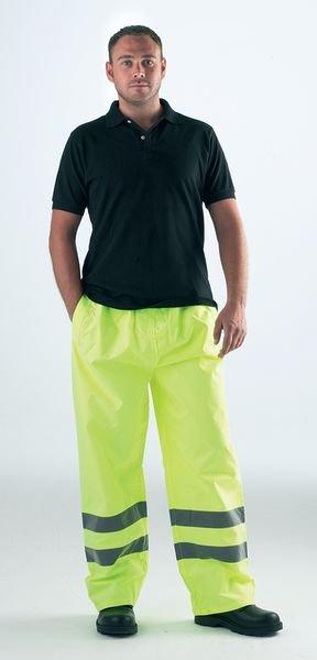 Pantalone da cantiere standard Yoko® ad alta visibilità impermeabile