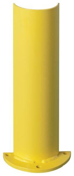 Protezione verticale arrotondata per scaffalature portatpallet