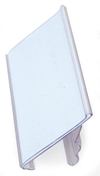 Porta etichette a incastro per scaffali